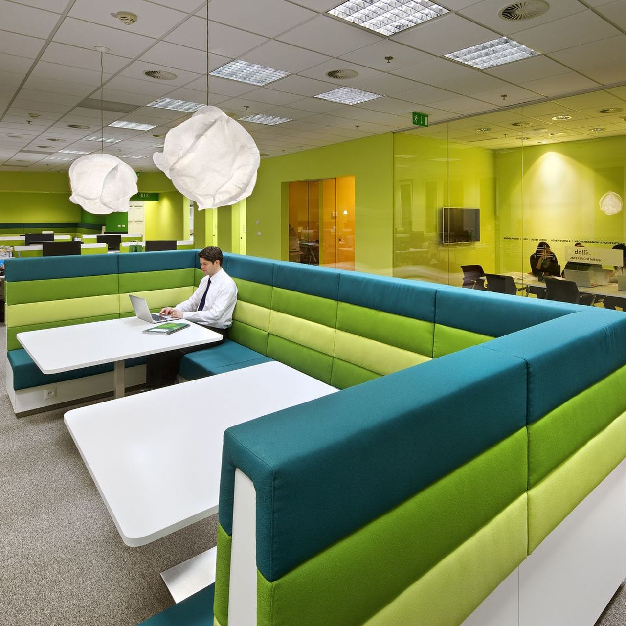 CBRE employees rate their new offices designed by IBA